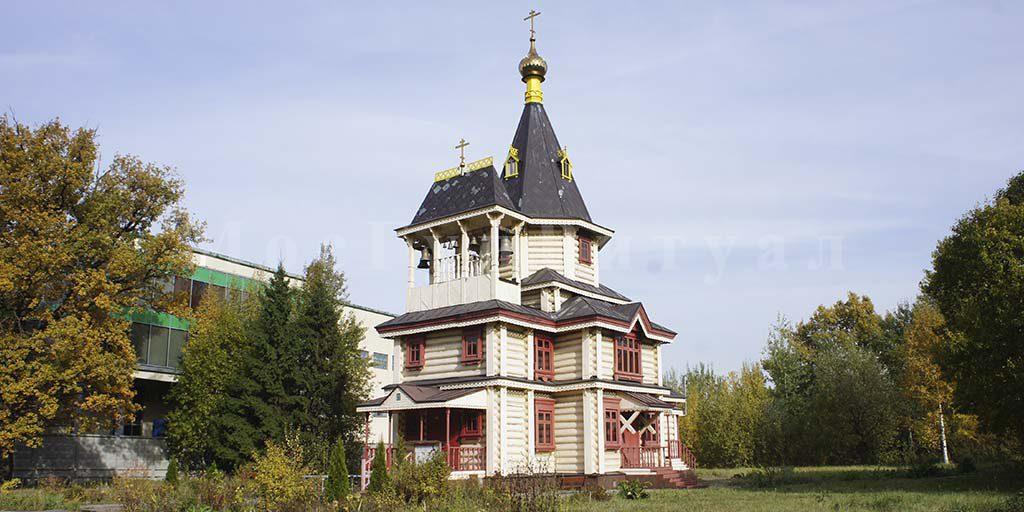 Церковь Сергия Радонежского в Чернецово