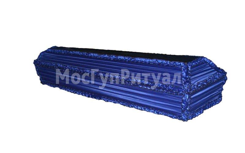 Гроб обитый тканью №02