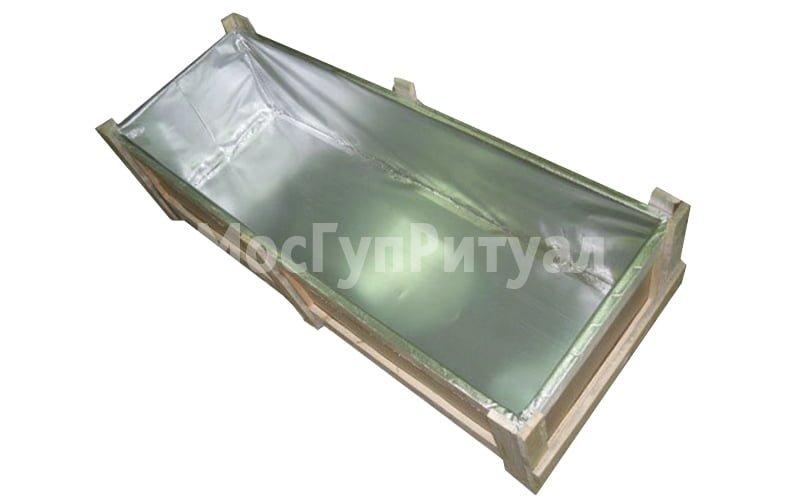 Гроб - ящик цинковый