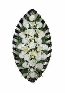 Венок ритуальный на похороны серия «простой» №14