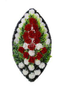 Венок ритуальный на похороны серия «заказной» №37